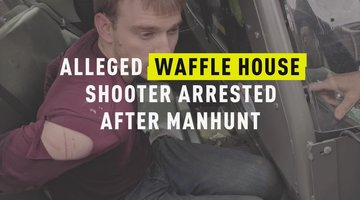 Alleged Waffle House Shooter Arrested After Manhunt