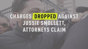 Charges Dropped Against Jussie Smollett, Attorneys Claim
