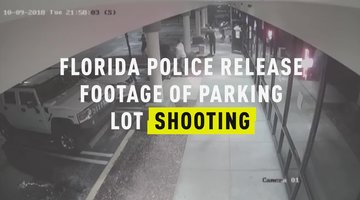 Florida Police Release Footage of Parking Lot Shooting