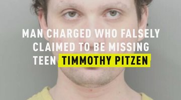Man Charged For Falsely Claiming To Be Missing Teen Timmothy Pitzen