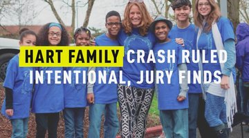 Hart Family Crash Ruled Intentional, Jury Finds