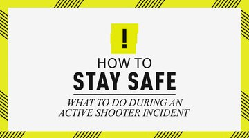 How To Stay Safe: What To Do During An Active Shooter Incident