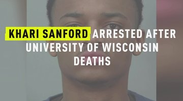 Khari Sanford Arrested After University Of Wisconsin Deaths