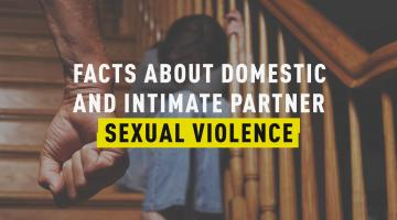 7 Facts about Domestic and Intimate Partner Sexual Violence