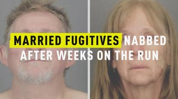 Married Fugitives Nabbed After Weeks On The Run