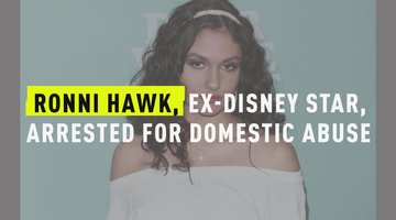 Ronni Hawk, Ex-Disney Star, Arrested For Domestic Abuse