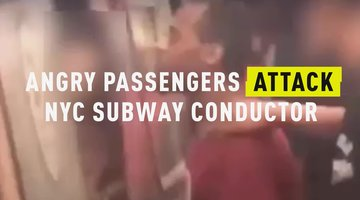 Angry Passengers Attack NYC Subway Conductor