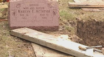Police Exhume The Body Of Marilyn McIntyre For DNA And Clues