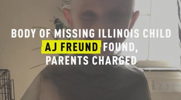 Body of Missing Illinois Child AJ Freund Found, Parents Charged