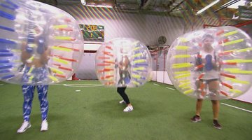 BGC East Meets West: Bubble Soccer