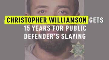 Christopher Williamson Gets 15 Years For Public Defender's Slaying