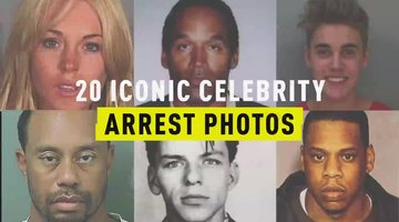 20 Iconic Celebrity Arrest Photos