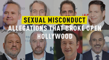 Sexual Misconduct Allegations That Broke Open Hollywood
