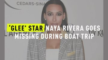 'Glee' Star Naya Rivera Goes Missing During Boat Trip