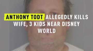 Anthony Todt Allegedly Kills Wife, 3 Kids Near Disney World