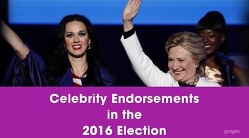 Which Celebrities Support Which Presidential Candidate?