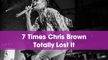 7 Times Chris Brown Totally Lost It