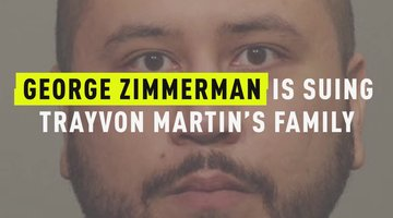 George Zimmerman Is Now Suing Trayvon Martin's Family