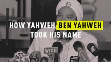 How Yahweh Ben Yahweh Took His Name