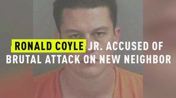 Ronald Coyle Jr. Accused of Brutal Attack On New Neighbor
